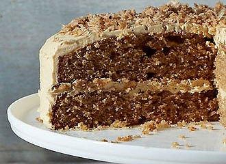 Walnut & Coffee Cake