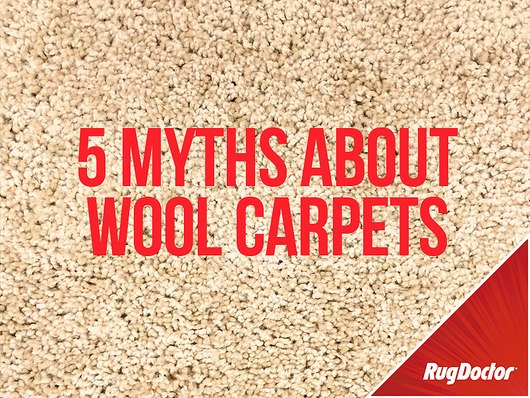 5 Myths About Cleaning Wool Carpets