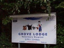 Grove Lodge Veterinary Hospital Worthing Sussex
