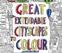 great extendable cityscapes colouring book