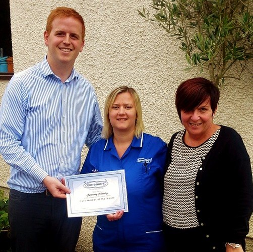 Carer of the month award