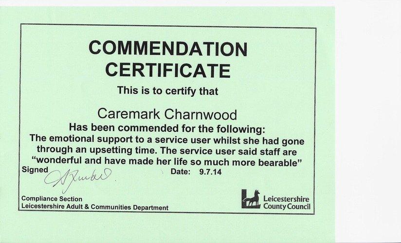 Caremark Local Authority certificate