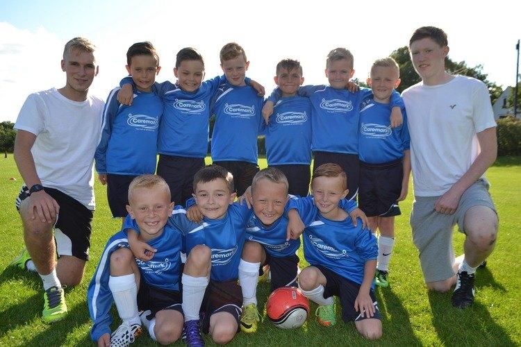 Caremark sponsors local football team