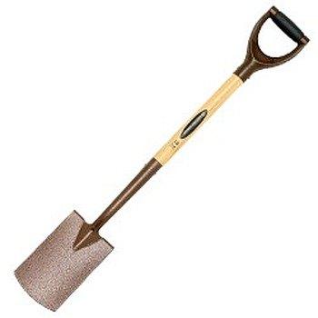 Spear jackson elements border spade for Spear head gardening shovel spade