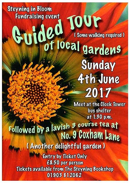 Tour Steyning - Steyning in Bloom